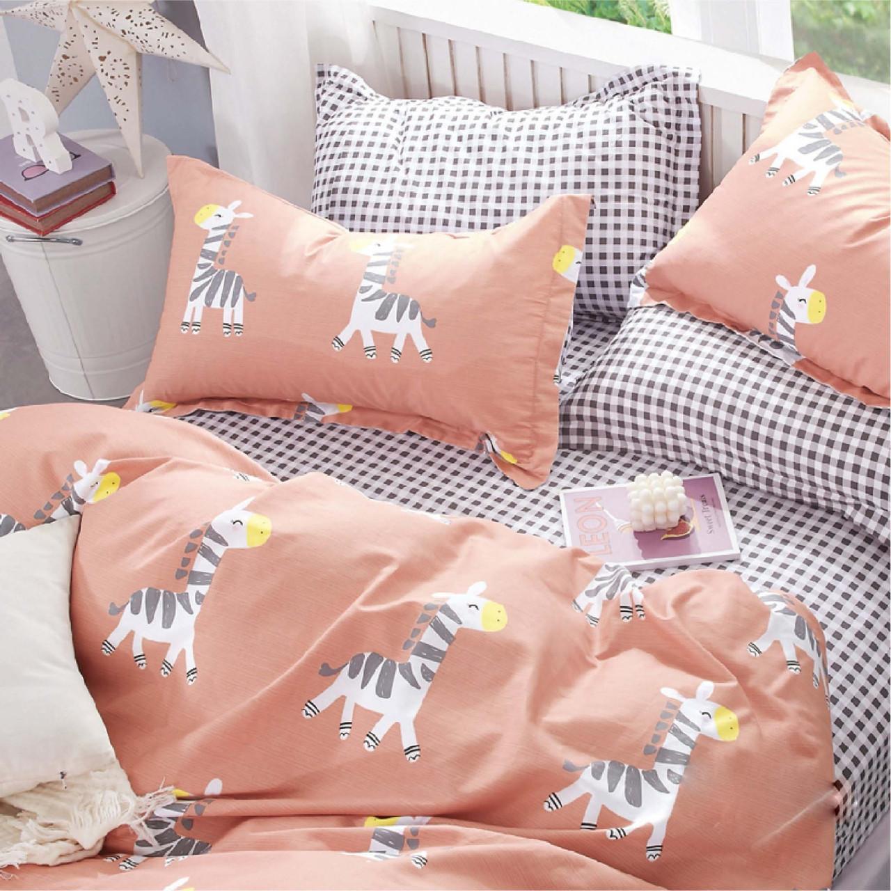 Подростковое постельное белье Сатин Твил 400 Полуторный