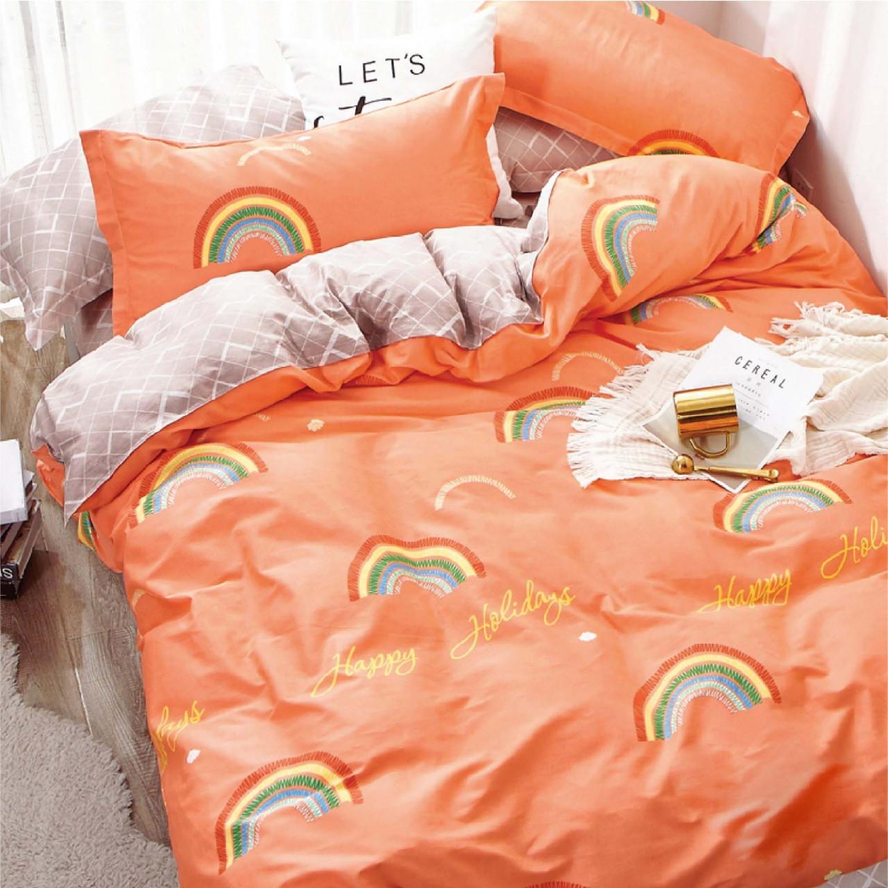 Подростковое постельное белье Сатин Твил 401 Полуторный