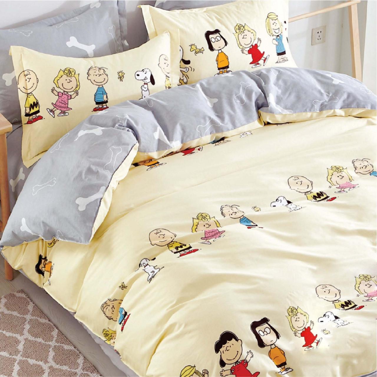 Подростковое постельное белье Сатин Твил 406 Полуторный