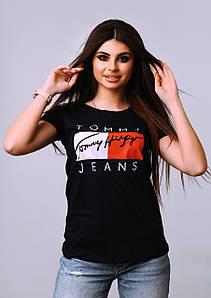 Женская футболка  ПРИНТ. Размер S, M, L, Турция, отличное качество