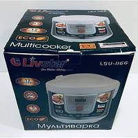 Мультиварка Livstar LSU-1166 12 программ, 5 л (900W) + пароварка