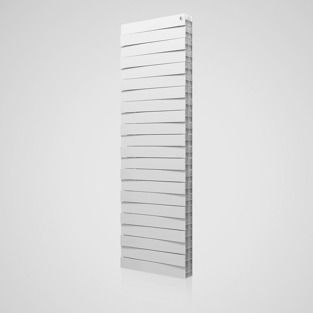 Радіатор біметал PianoForte TOWER (Bianco Traffico) 18 секцій Royal Thermo