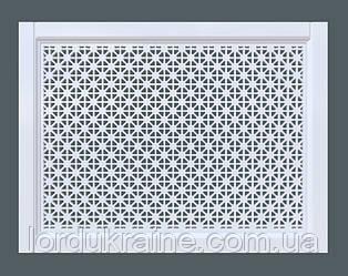 Декоративная решетка на батарею   Экран для радиатора   Накладка на батарею   Сетка на батарею 600*600