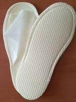 Тапочки сауна белые