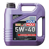 Синтетическое моторное масло - Synthoil High Tech SAE 5W-40 4 л.