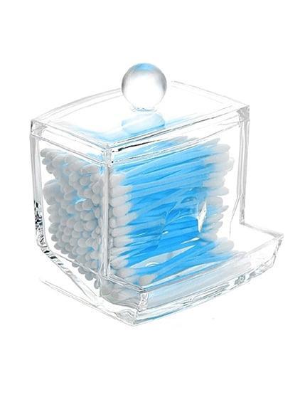 Органайзер для ватных палочек прозрачный