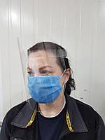 Пластиковый экран для лица защитный