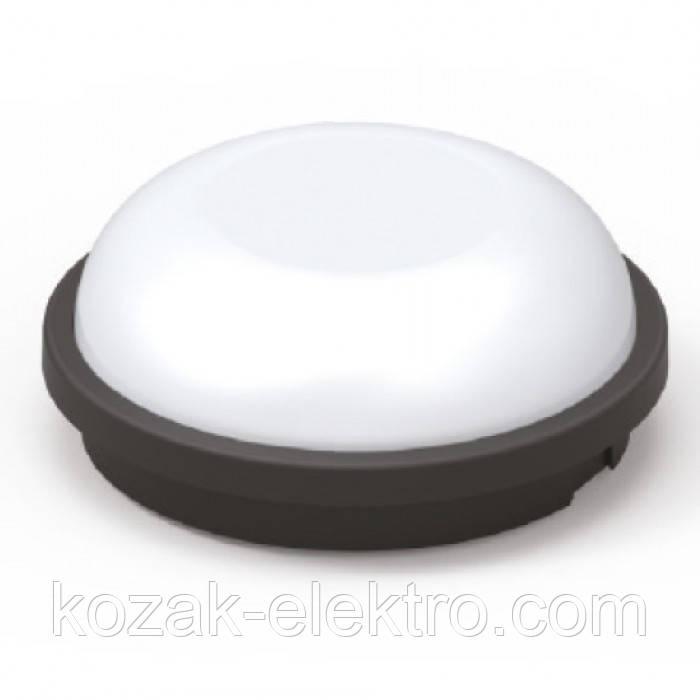 ARTOS 20Вт, 4200K, IP65 светодиодный светильник круглый черный