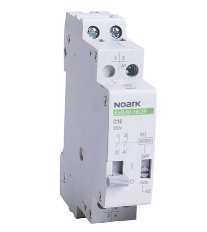 Імпульсне реле Noark 16А 24VDC 2p Ex9JU-16/2P DC24V 110284, фото 2