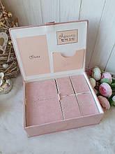 """Шкатулка для новонароджених з коробочками для пам'ятних речей """"Мамині скарби"""""""