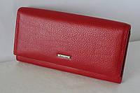 Кошелек женский красный натуральная кожа Mario Dion 3019 Red, фото 1
