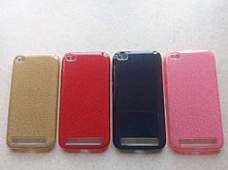 Чехол блёстки для Xiaomi Redmi 5A