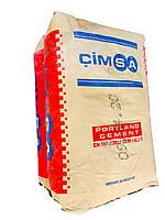 Цемент 42,5 R Cimsa - серый, 25 кг/мешок.