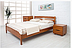 Кровать из массива бука -Каролина (без изножья), фото 2
