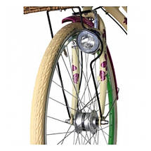 "Велосипед 28"" CROSS Picnic Flowers 3 spd рама 20"" 2015 белый, фото 3"