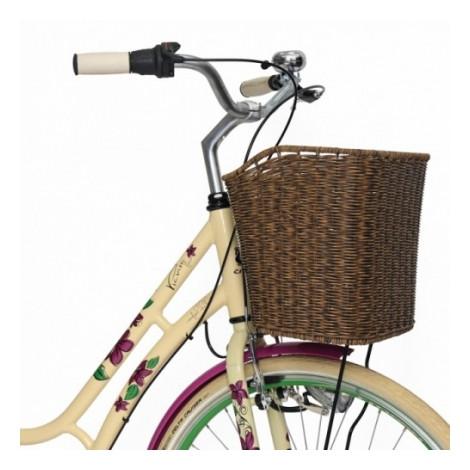 "Велосипед 28"" CROSS Picnic Flowers 3 spd рама 20"" 2015 белый"