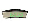 Электронные LED часы настольные с зеленной подсветкой  UKC 6507