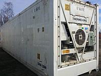 Контейнер холодильник рефконтейнер 40 45 футов refrigerated container reefer