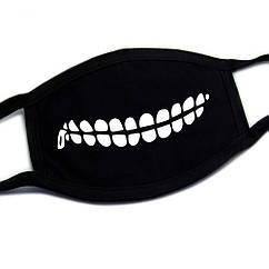 Маска тканевая Зубы 4
