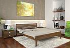 """Деревянная кровать """"Классик"""" из натурального дерева, фото 2"""