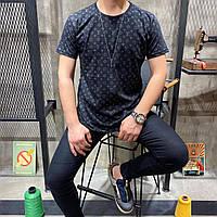 Мужская футболка в стиле Louis Vuitton | Лучшее качество!