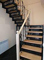 Изготовление, монтаж и проектирование сходов, перил, лесниц для дома. Металичиские лестницы и перила!