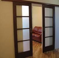 Раздвижная система   LC для дверей до 100 кг и длиной 3м на 2 двери