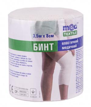 Бинт Medtextile эластичный медицинский средней растяжимости 3,5 м*8 см