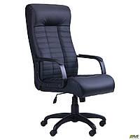 Кресло офисное AMF Атлетик Софт Tilt чёрное, фото 1