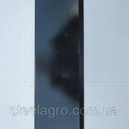 Ніж измельчительного ковзанки ПТ-6 398х124мм, s7-8мм 2отв. ст65г або 30MnB5 (техніка Технополь)