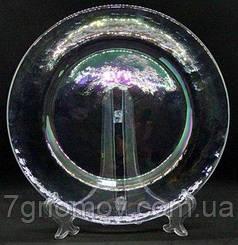 Тарелка стеклянная обеденная Bailey Infinity 32 см (500-23)