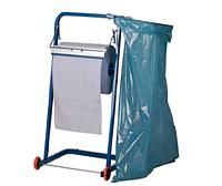 Напольный держатель бумаги с креплением под мешок для мусора