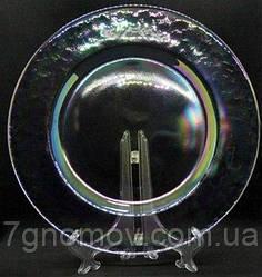 Тарелка стеклянная обеденная Bailey Infinity 27 см (500-24)