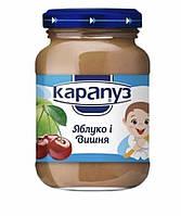 Пюре Карапуз Яблоко-вишня 200 гр. с 4 мес