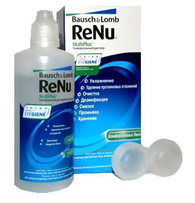 Раствор для линз ReNu MultiPlus 120 мл флакон №1