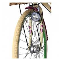 "Велосипед 28"" CROSS Picnic Flowers 3 spd рама 18"" 2015 белый, фото 2"