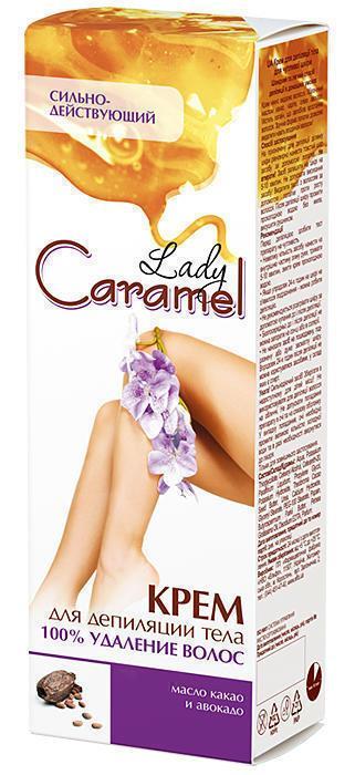 Крем для депиляции Caramel 100% удаление 100 мл