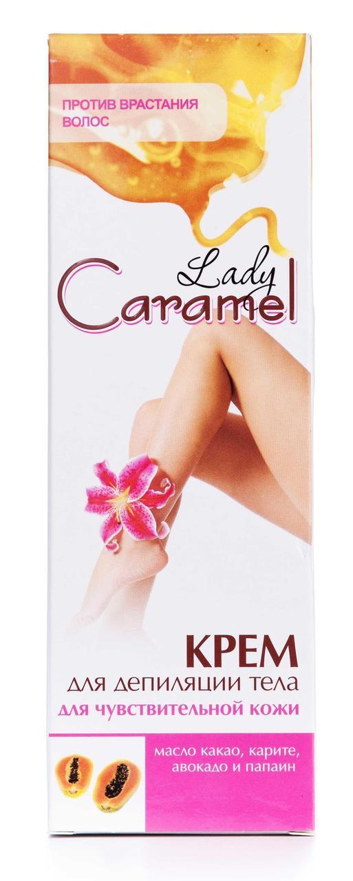 Крем для депиляции Caramel для чувствительной кожи 100 мл