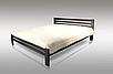 """Двуспальная кровать """"Классик"""" из натурального дерева, фото 7"""