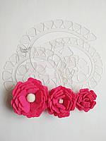 Шаблон пластиковый цветок пышный 06
