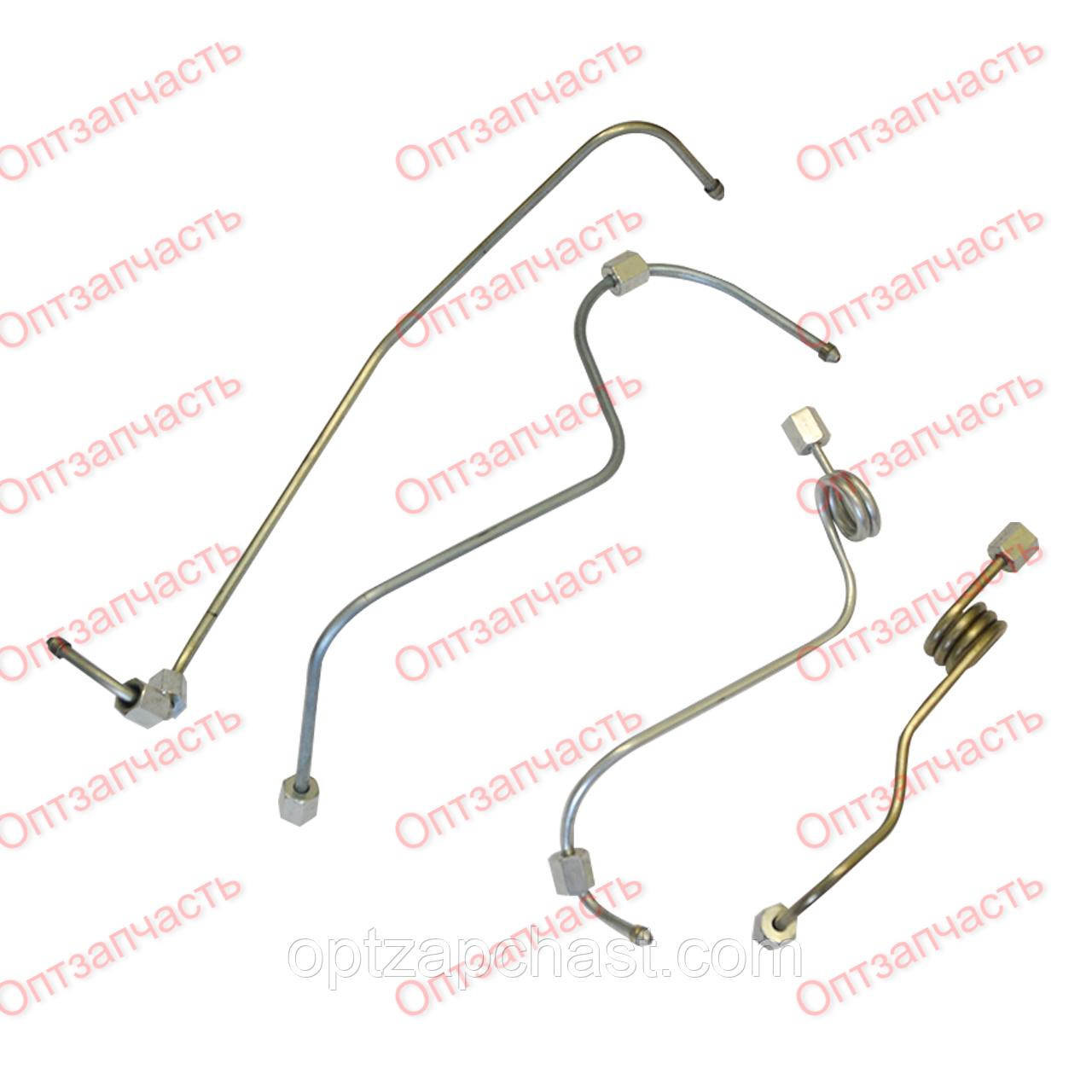Комплект трубок высокого давления ЮМЗ гнутые (комплект 4 шт) (Д65-16С18-21)