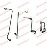 Комплект трубок высокого давления ЮМЗ гнутые (комплект 4 шт) (Д65-16С18-21), фото 8