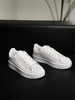 Женские кроссовки Адидас Суперстар белые Adidas SuperStar platform white