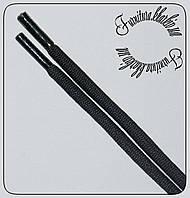 Шнурок круглый 2 м особо плотный 4,5 мм черный