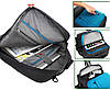 Сумка для ноутбука Socko / Городской рюкзак / Портфель Черный (46 х 33 х 13 см.), фото 5