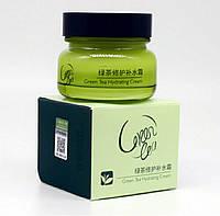 Корейский увлажняющий крем с зелёным чаем