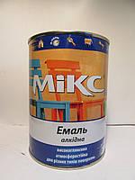 Емаль алкідна Mikc color, Срібляста. 800 мл., фото 1