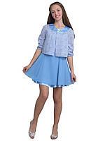 """Платье нарядное для девочки с жакетом М -1957 рост158  тм """"Попелюшка"""", фото 1"""