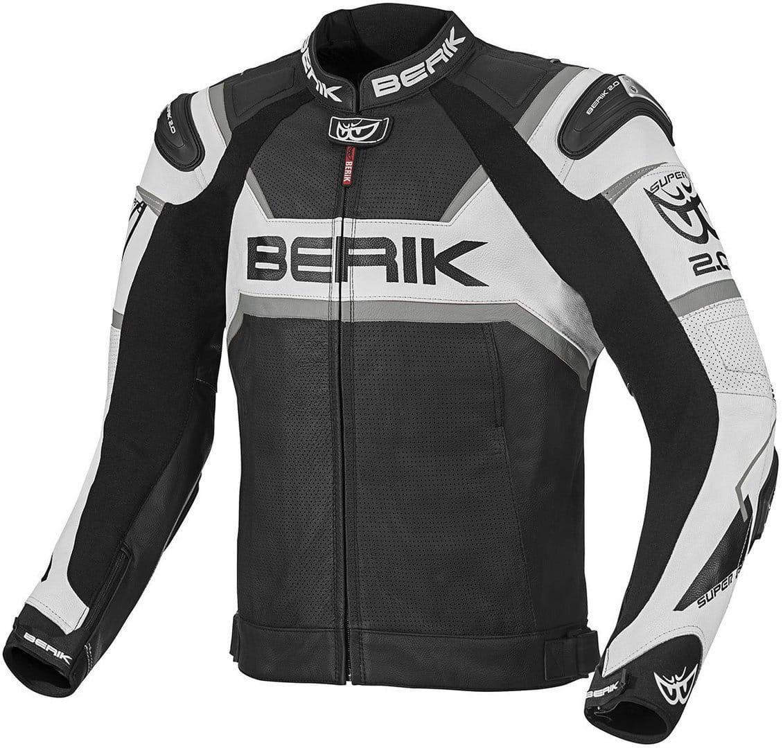 Мотокуртка Berik Tek-X 2.0 Black/White
