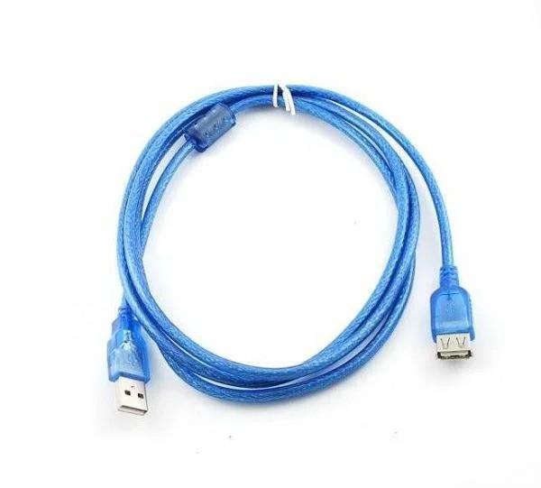 Подовжувач USB 2.0, 3m, АМ-AF, 2 фериту